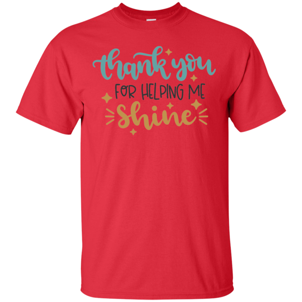 Thank you for helping me shine TShirt T shirt costumes