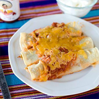 Picante Pork Enchilada