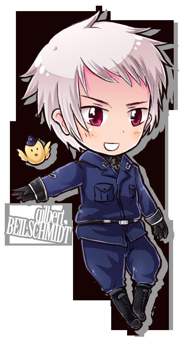 Chibi Series - Prussia by *say0ran on deviantART