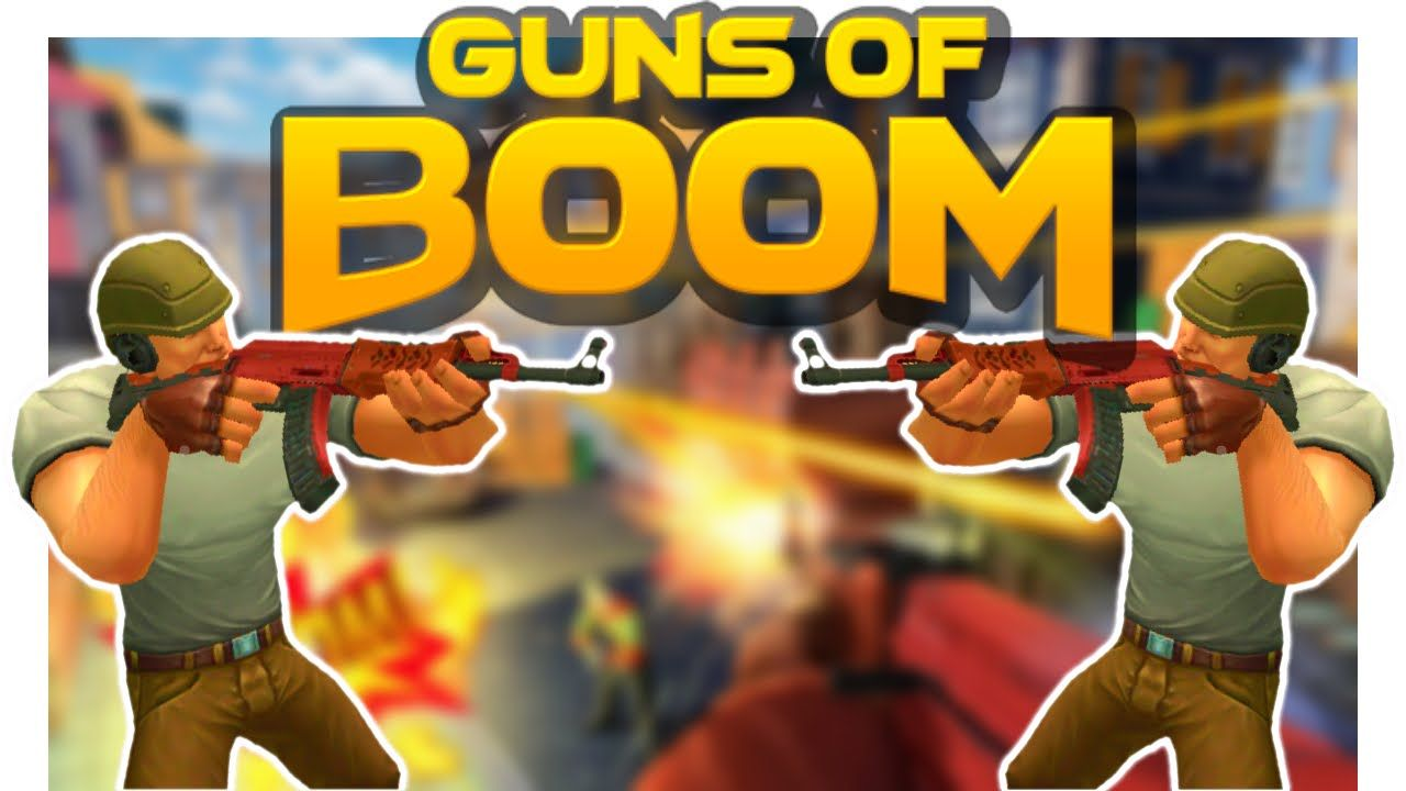 Guns Of Boom Mod Apk Instant Reload No Recoil Rapid Fire Mod Unlimited Money Coins Gems Guns Of Boom Mod Android Ios Free Download