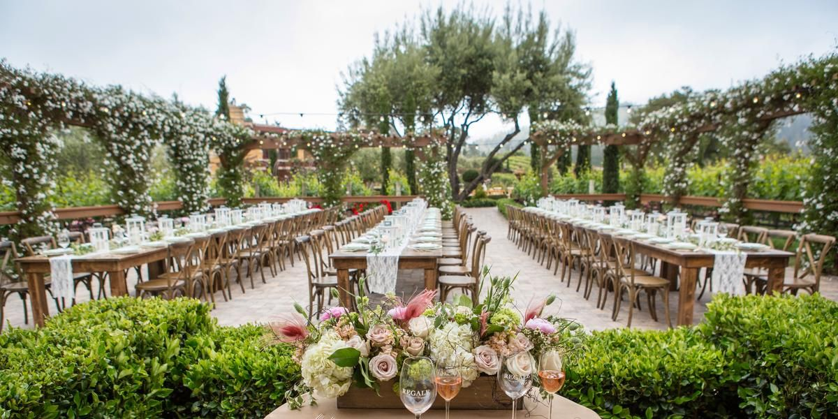 Regale Winery And Vineyards Weddings Price Out Compare Wedding Costs For Ceremony