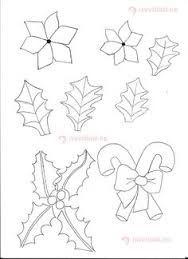 Resultado De Imagen Para Patrones De Flores De Navidad En