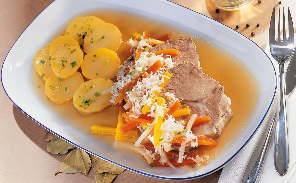 Steirisches Wurzelfleisch • Rezept | Rezept | Rezepte, Lebensmittel essen,  Fleisch