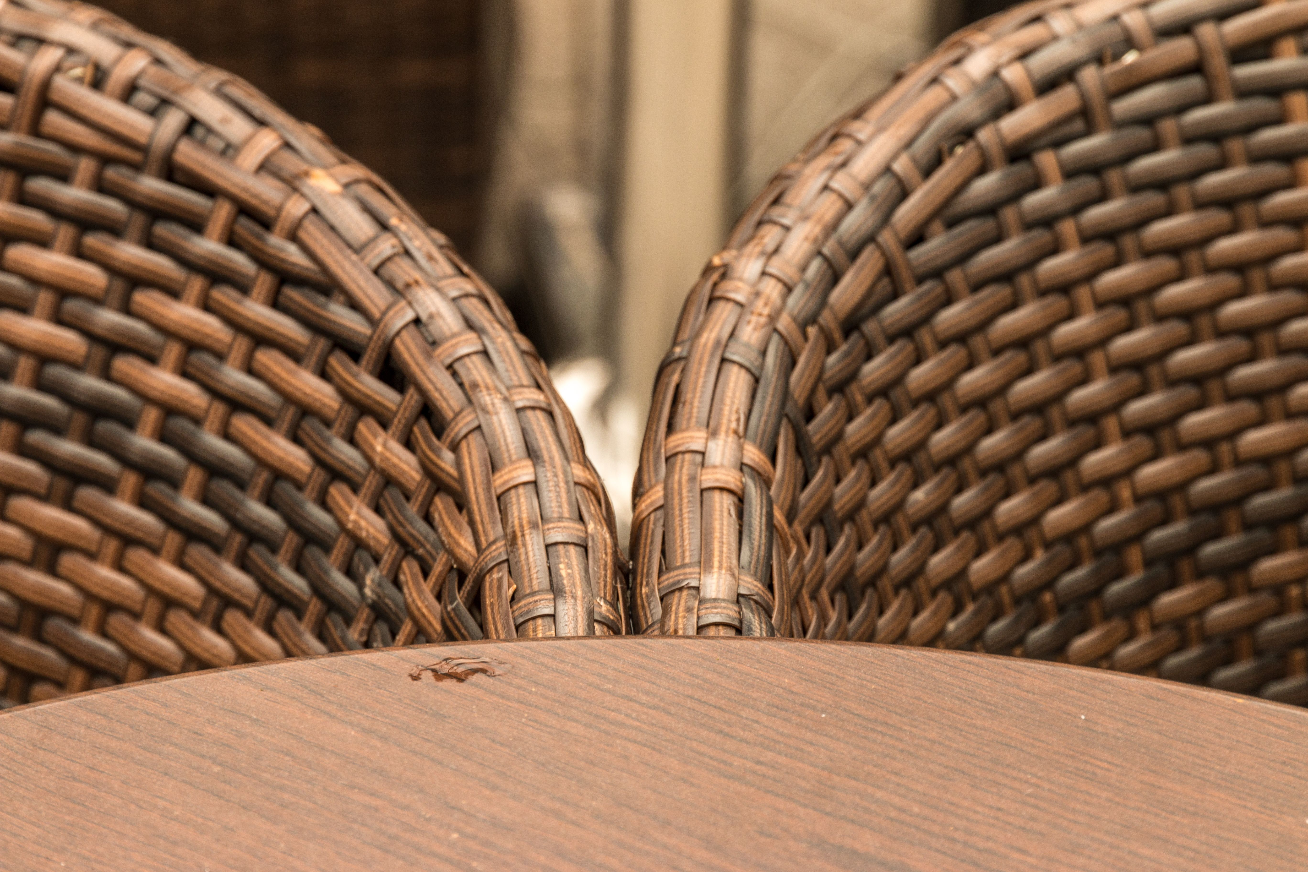 How to Fix Resin Wicker Chairs (With images)   Resin ...