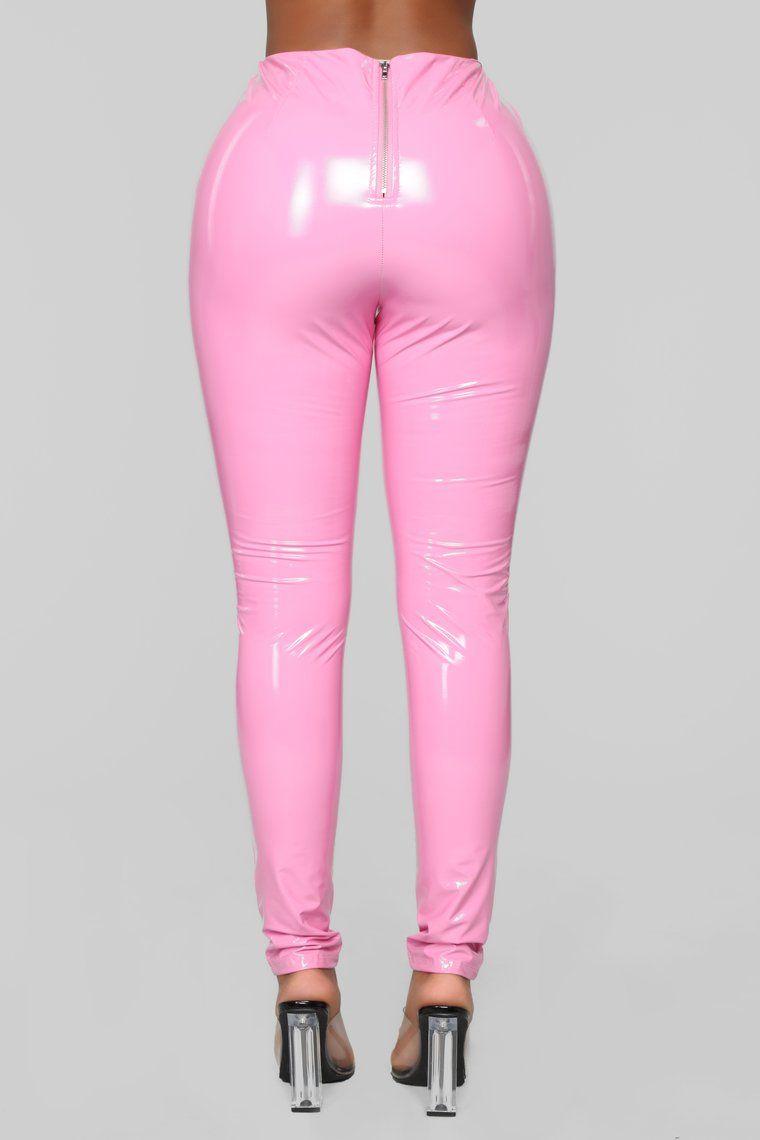 Any more pink latex pants any dialogue