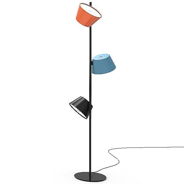 Tam Tam Multi Colored 3 Light Floor Lamp In 2020 Floor Lights Floor Lamp Lamp