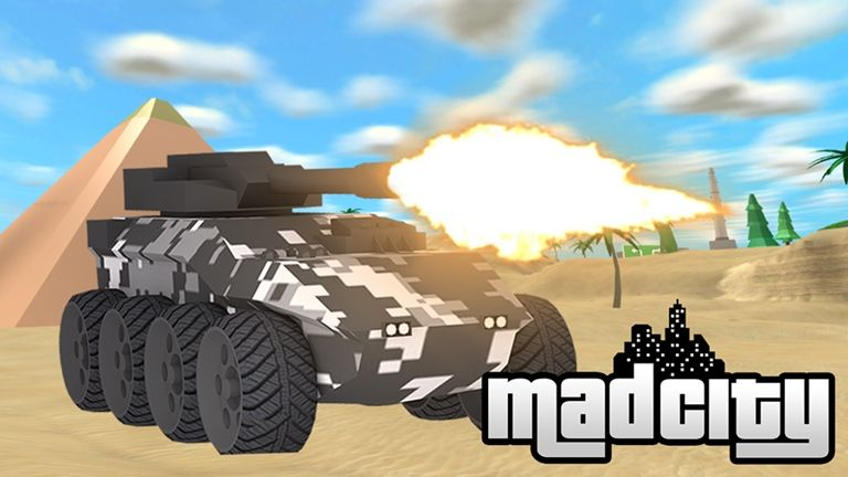 1 Mad City Tanks Roblox Coole Autos