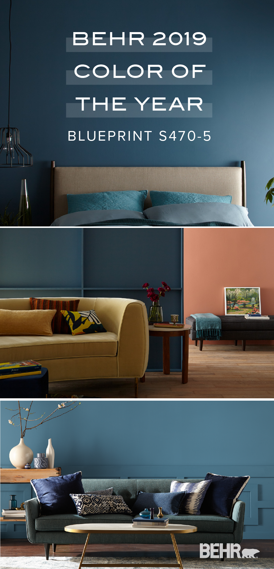 Pin On Behr 2019 Color Trends