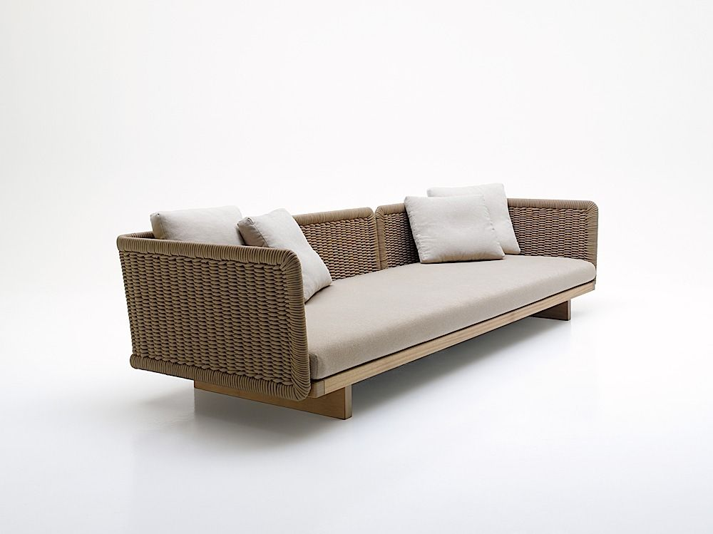 Sofa Sabi Exterior Paola Lenti Contemporary Modern Sofas