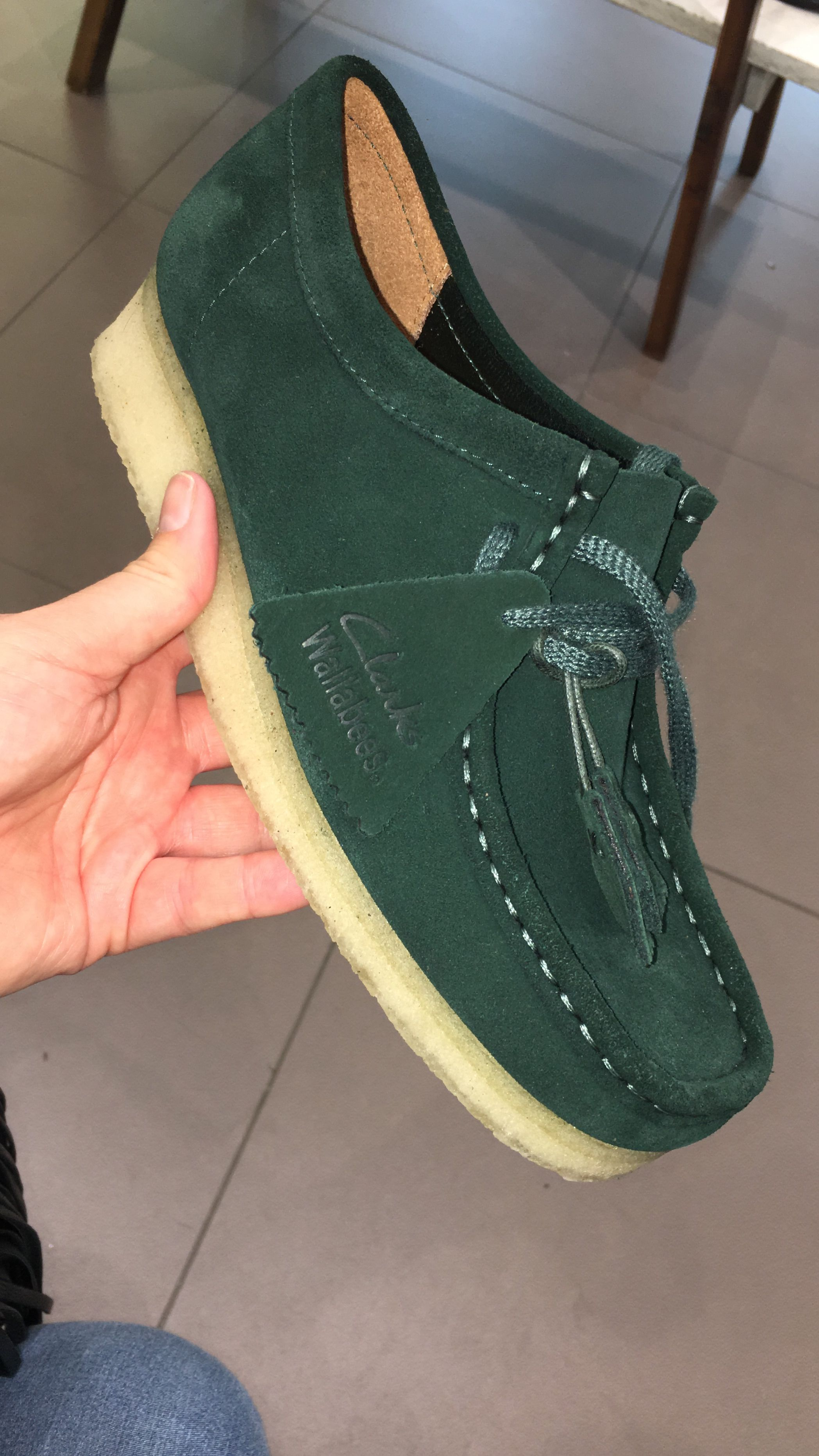4fbde578 Probably one of the best Clarks Wallabees colours | My style in 2019 ...