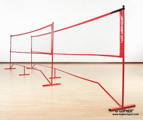 Ultranet Portable Net Systems Portable Volleyball Net Gopher Sports Portable
