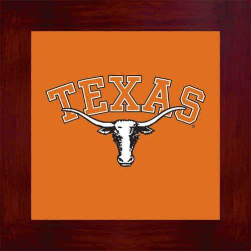 University Of Texas Longhorns Logo Home Décor Trivet Wall Hanging