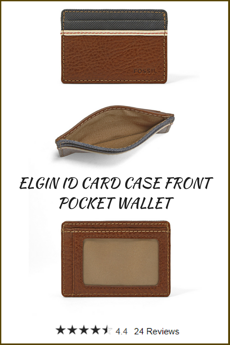 size 40 e1b81 eb6e4 ELGIN ID CARD CASE FRONT POCKET WALLET. Minimalist dream come true ...