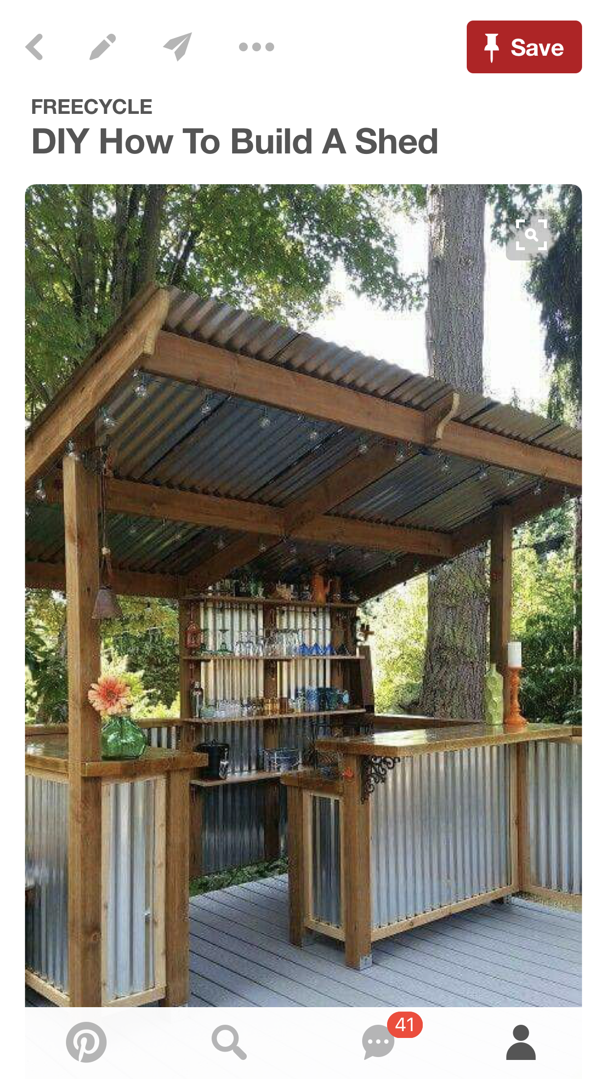 I Want This Bar Shed Outdoors Kitchen Outdoor