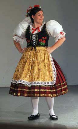Czech Kroj I Wore An Outfit Like This Many Times Czech Dancing