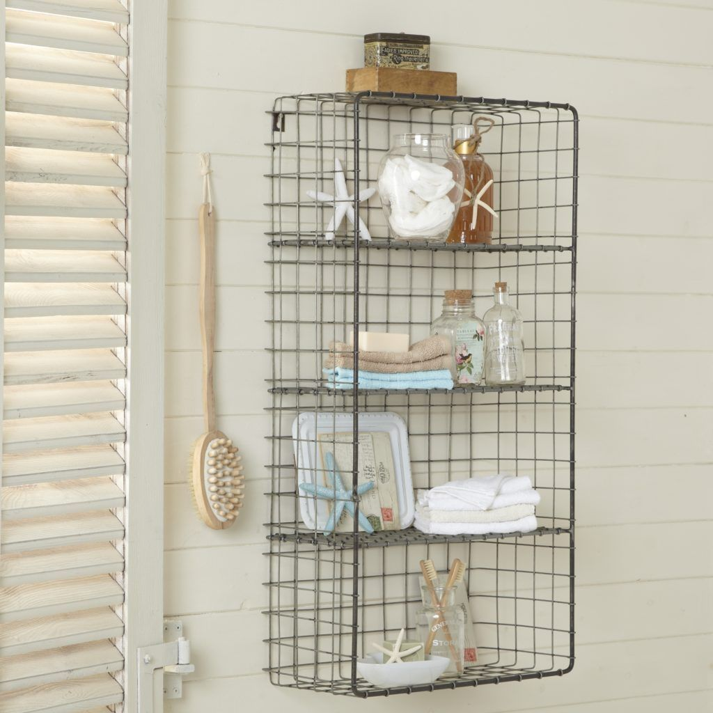 Wire Bathroom Storage Ideas - WIRE Center •