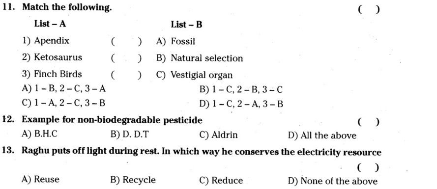 Ap Ssc 10th Class General Science 2 Model Paper 2015 16 English