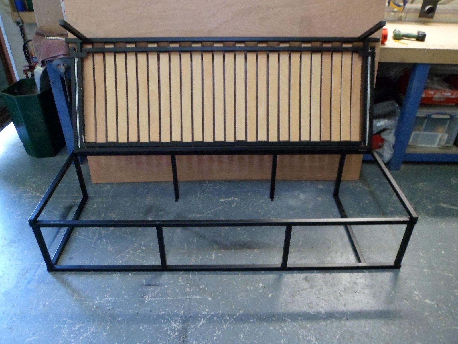 campervan camper motorhome side sliding bed/seat not rock