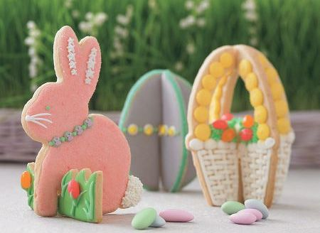 Stand-up Easter Cookies