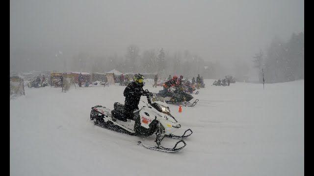 Snowmobile Uphill Drag Racing (Part 2) 4k HD