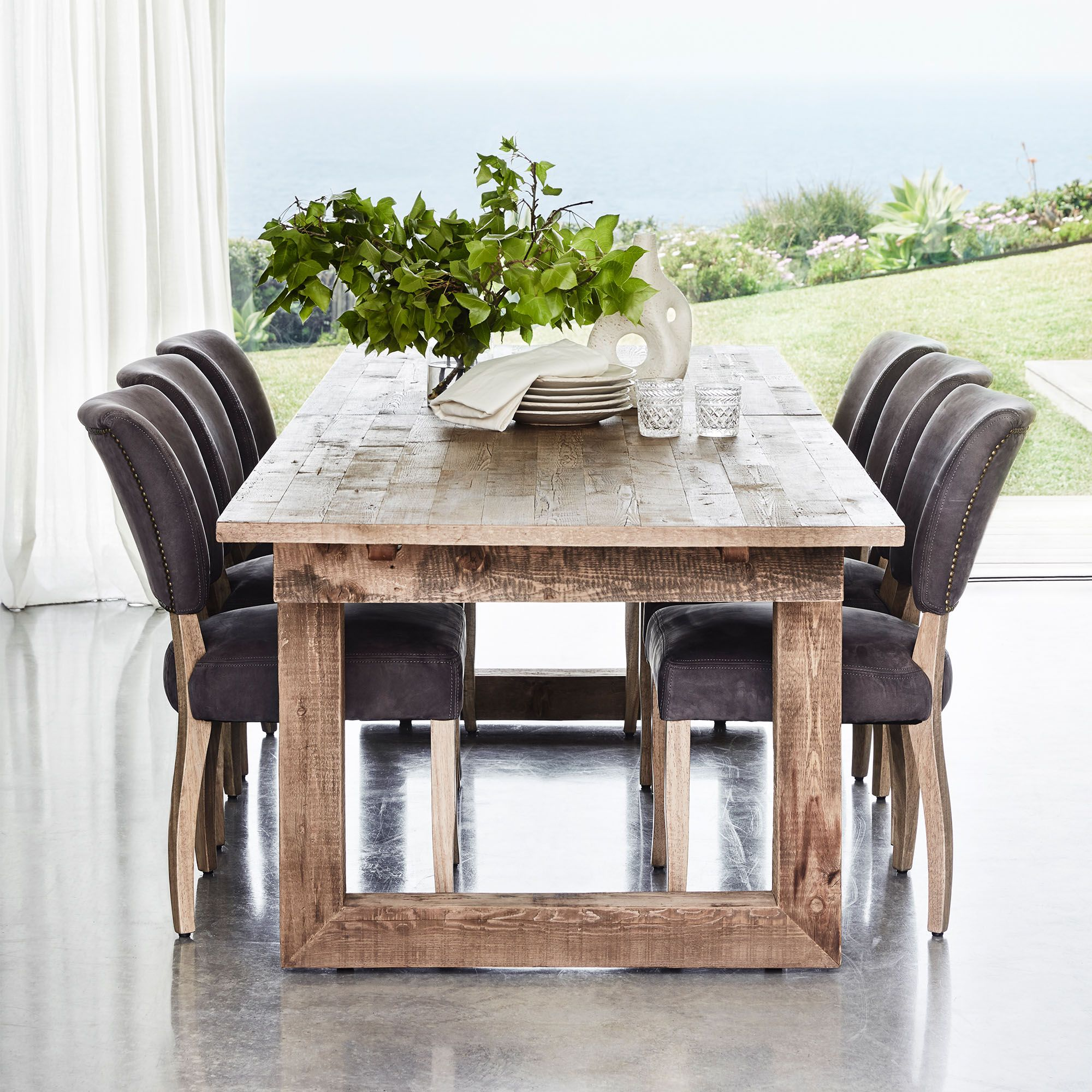 Handcrafted From Genuine English Reclaimed Timber Sourced Old Buildings In The UK Some Up To 100 Years Causeway Dining Table Is Perfect