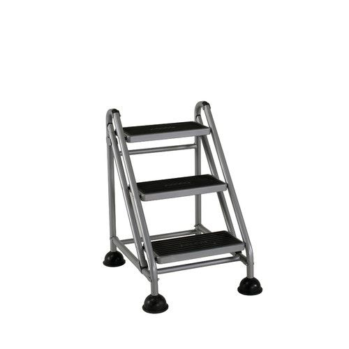 Found It At Wayfair.ca   3 Step Steel Rolling Step Stool With 300