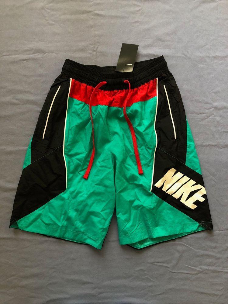 estimular Papúa Nueva Guinea asistente  NIKE MEN'S THROWBACK SHORTS Size Medium TEAL/BLACK/RED/WHITE AJ3673-396  #fashion #clothing #shoes #accessories #mensclothing #act… | Men,  Basketball shorts, Fashion