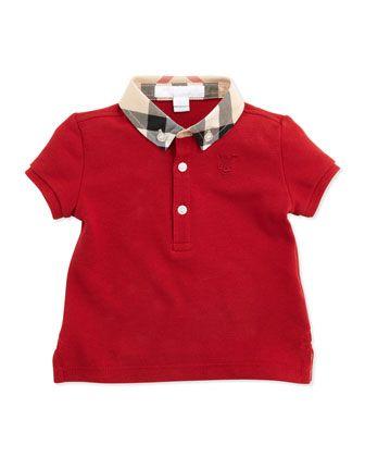 5b10fbb3e3f Mini Pique Polo Shirt