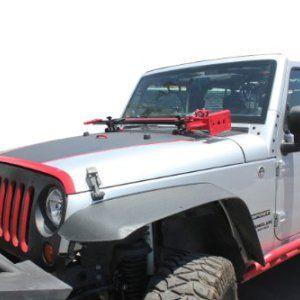 Tuff Stuff Jeep Jk Hi Lift Jack Hood Mount Jeep Jk Jeep