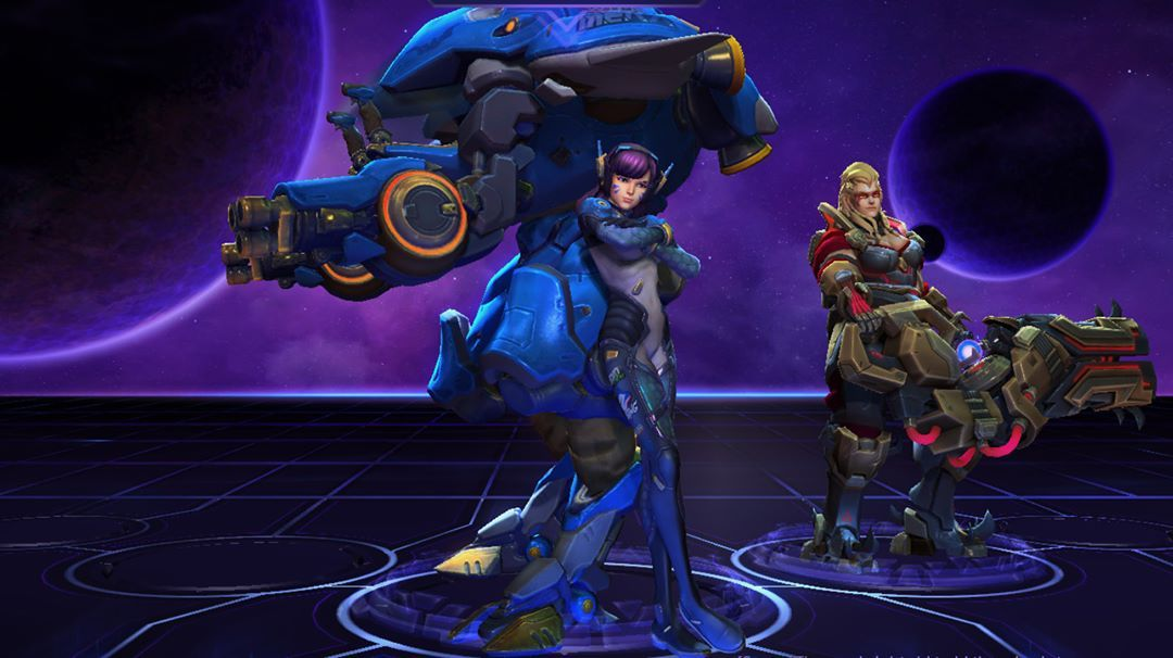 D. Va is sexy - Heroes of the Storm #games #blizzard #moba #HotS #diva