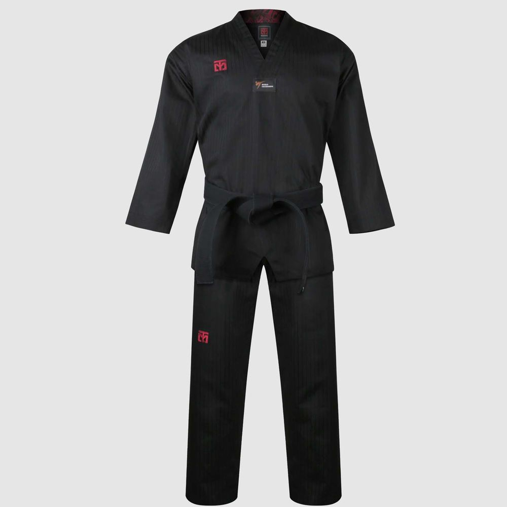 Mooto Do Black Belt Double Wraps Martial Arts Taekwondo Hapkido Karate MMA TKD