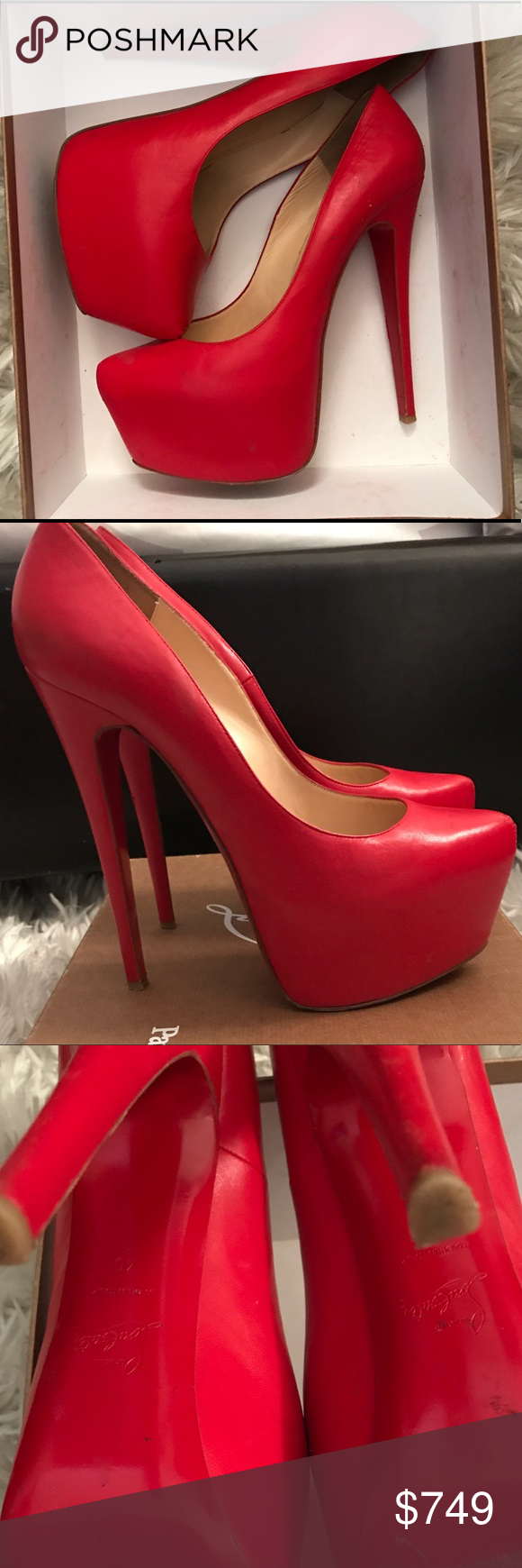 edf908cdddb4 ... wholesale christian louboutin daffodil pumps you cant go wrong with a  classic christian louboutin red 80427