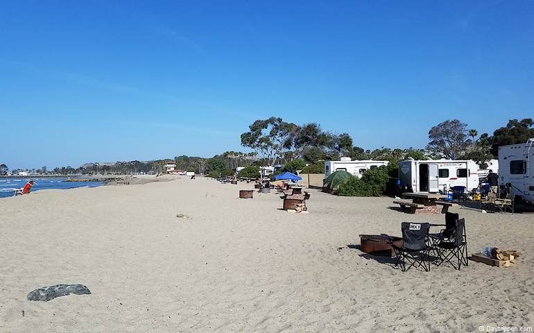 Doheny State Beach Camping Day Use