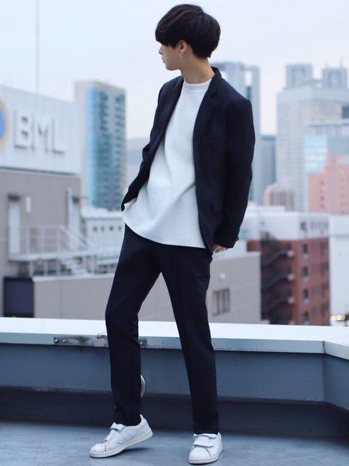 ピアス最高だなぁ 《サイズ》 アウター Mens Fashion   MichaelLouis  www MichaelLouis com MensFashionSimple is part of Kpop fashion men -