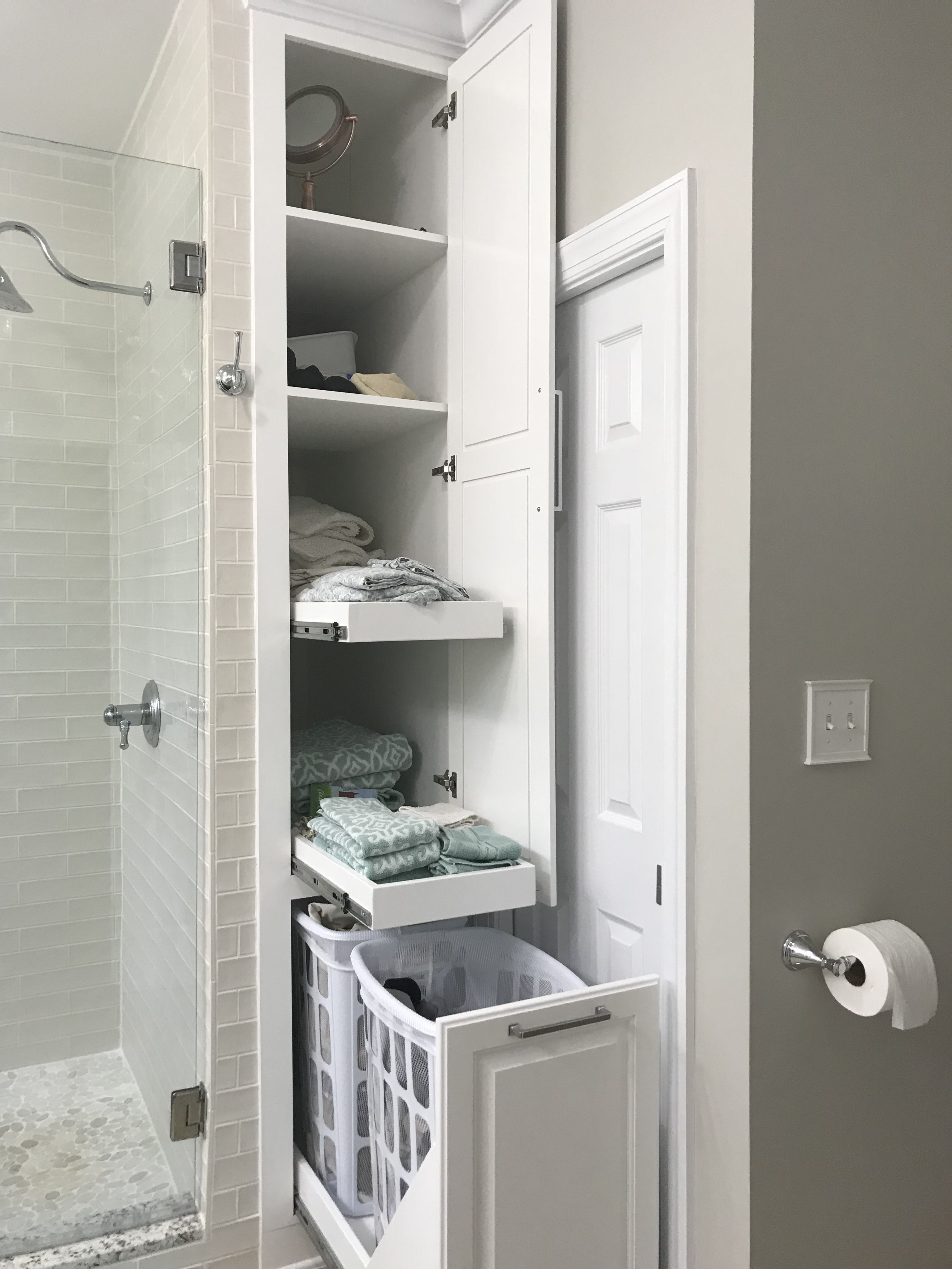 55 bathroom storage solutions for small space storage - Bathroom storage ideas small spaces ...