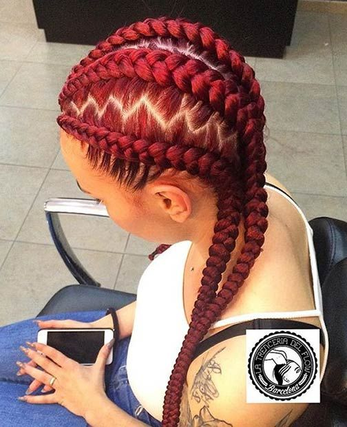 31 Stylish Ways To Rock Cornrows Natural Hair Styles African