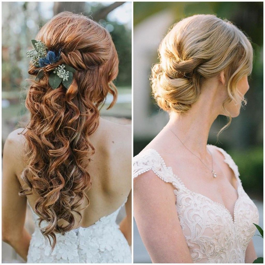 question of the day which do you prefer for bridal hair