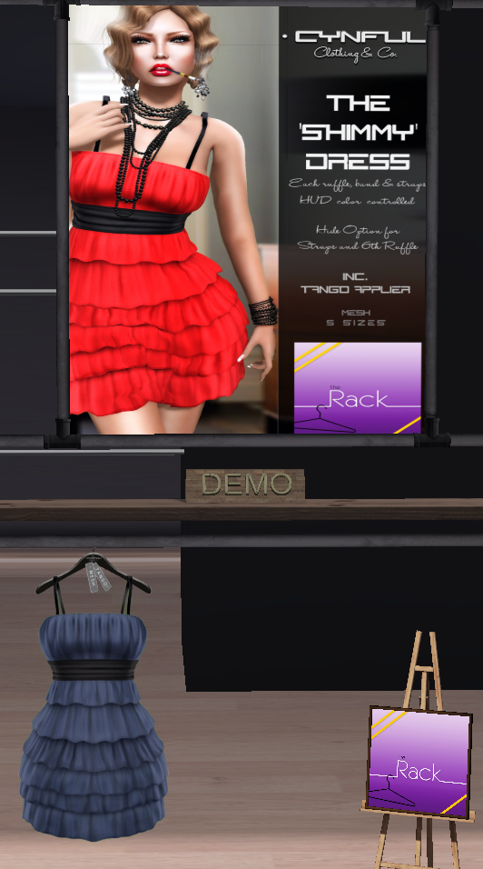 Cynful Clothing & Co http://maps.secondlife.com/secondlife/Cynful%20and%20CnS/48/122/83