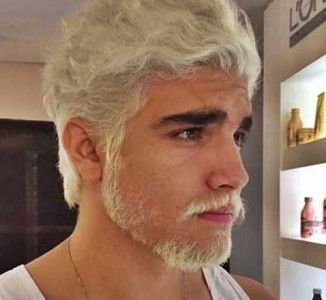 White Hair Guy 2 326x300 Jpg 326 300 White Hair Men Bleached