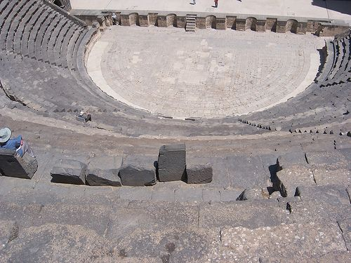 Theater at Bosra, Syria. (III)
