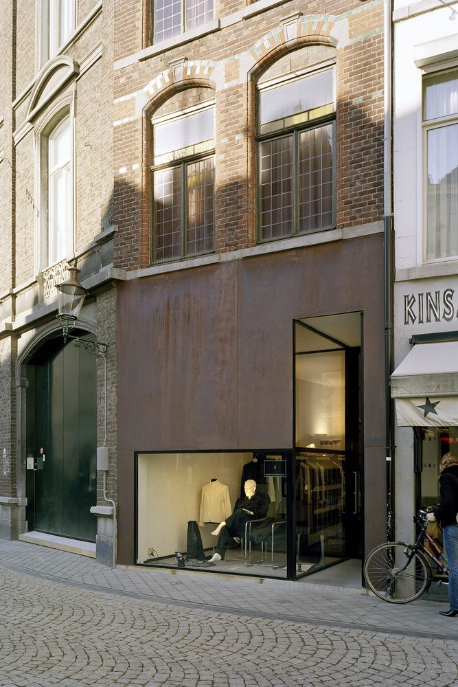 Beltgens fashion shop by wiel arets architects for Raumgestaltung einzelhandel