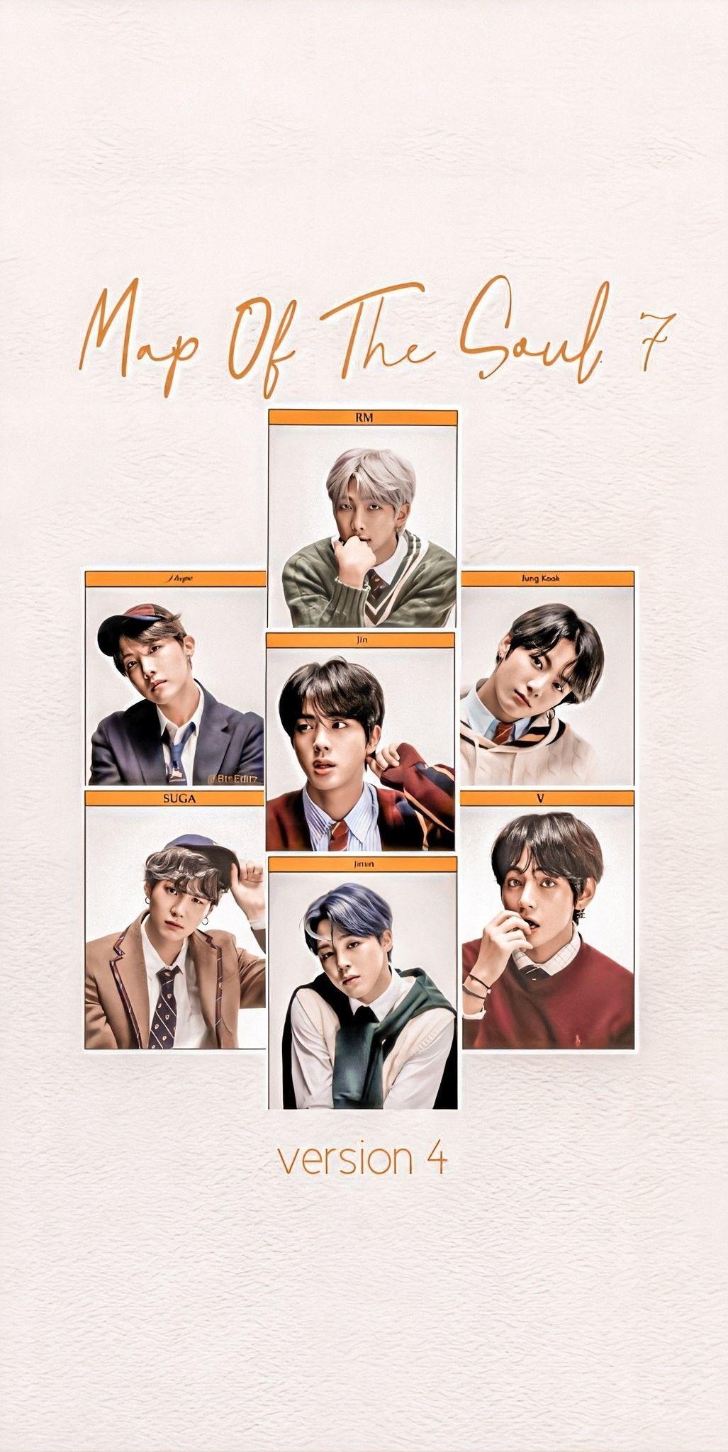 #BTS #방탄소년단 #MAP_OF_THE_SOUL_7 Concept Photo version 4 Wallpapers - BTS WallpapersLockscreen...