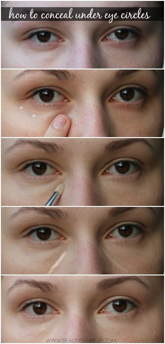The two Easy Steps We Can Hide It | Let's Conceal Our Under Eyes ...