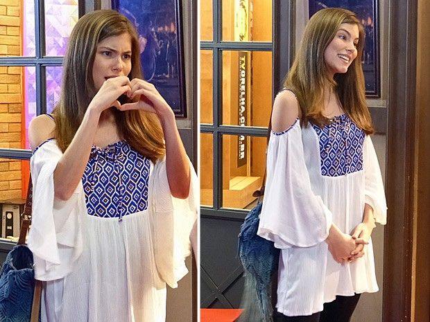 Bianca arrasa até nos looks para aula (Foto: Gshow)