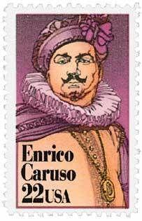 1986 22c Enrico Caruso Scott 2250 Mint F/VF NH