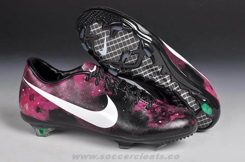 Purple Galaxy Soccer Ball