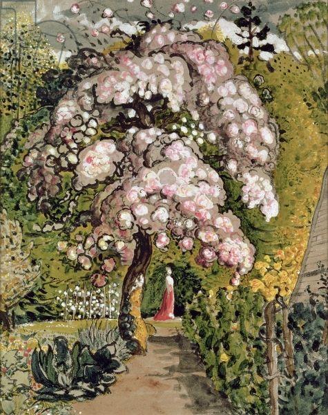 Samuel Palmer, In a Shoreham Garden (w/c)