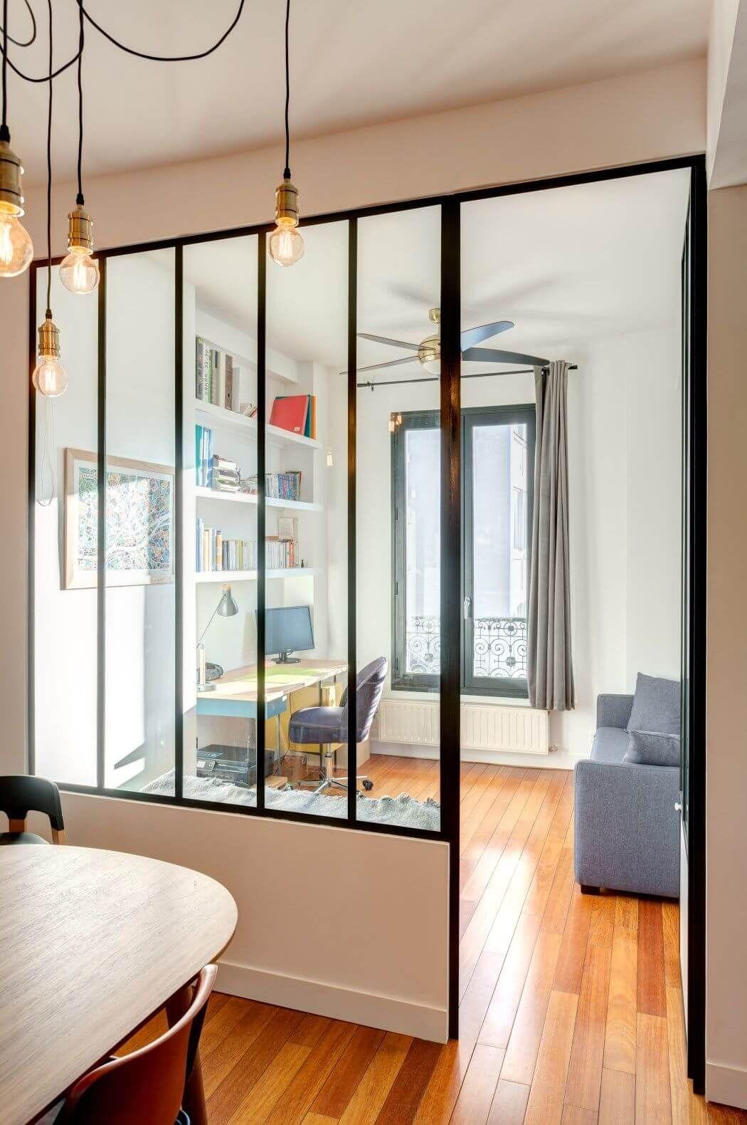 Renovation D Un Appartement Peintures Verriere Et Salle De Bain