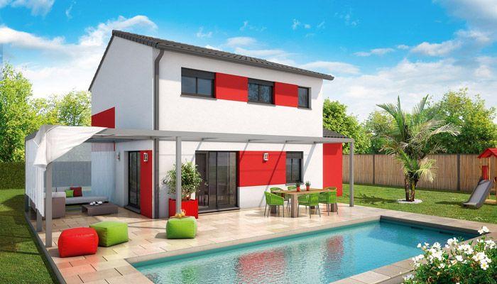 Laissez-vous séduire par cette maison traditionnelle à étage Ses - plan de maison moderne a etage gratuit