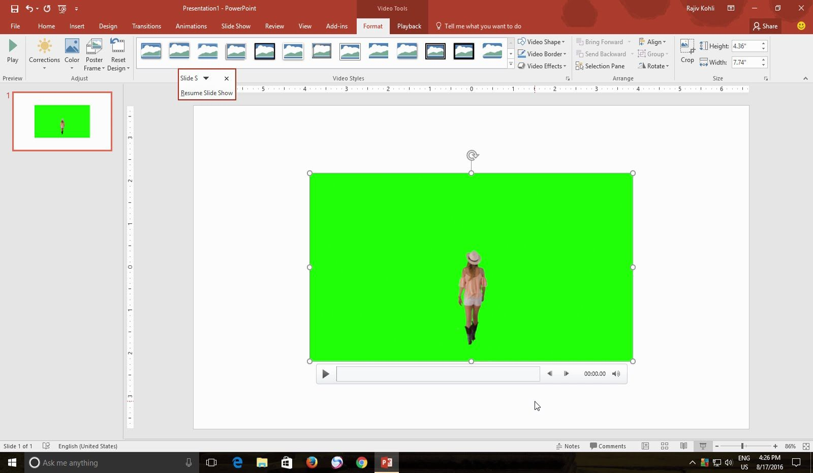 Videos Doesn't Play in PowerPoint Slideshow | PowerPoint 2016